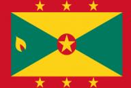 grenada, flag, national flag