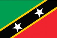 ST.-KITTS-&-NEVIS, flag, national flag