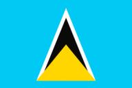 saint lucia, flag, national