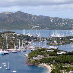 antigua, caribbean, sea